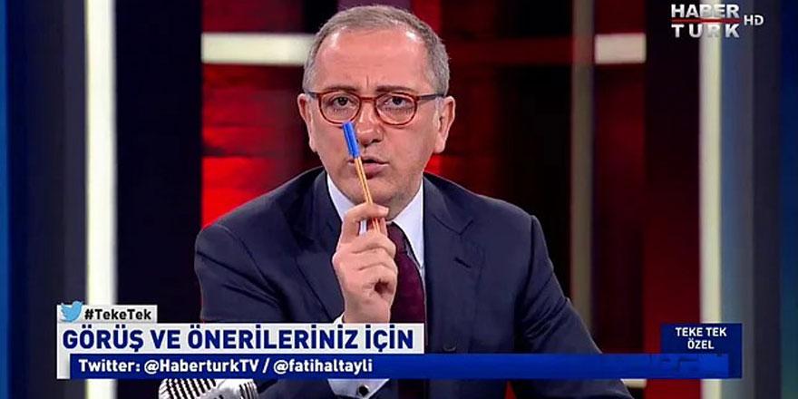 Habertürk yazarı Fatih Altaylı hangi bakanı hedef aldı? Kastın neyse söyle ya da boş yapma