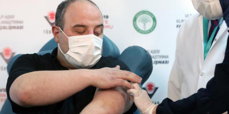 Varank yerli aşının ikinci dozunu yaptırdı