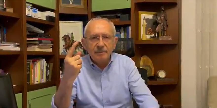 CHP lideri Kemal Kılıçdaroğlu'ndan gençlere videolu çağrı
