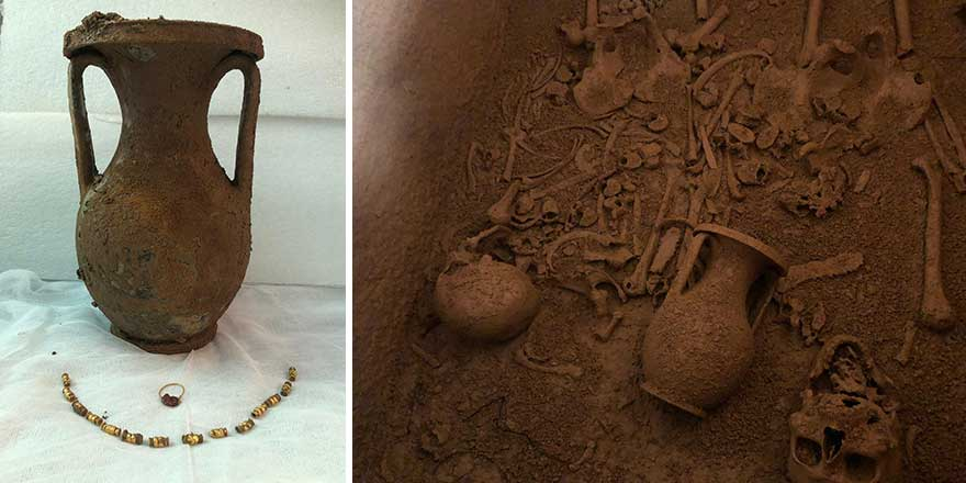 2 bin 400 yıllık lahit Bodrum Kalesi Sualtı Arkeoloji Müzesi'nde sergilenmeye başlandı!