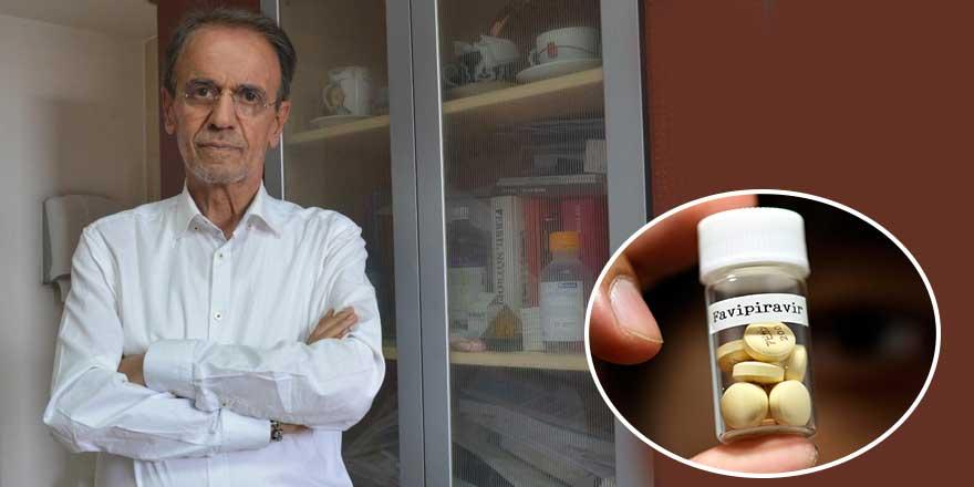 Prof. Dr. Mehmet Ceyhan'dan Favipiravir ilacına ilişkin açıklama