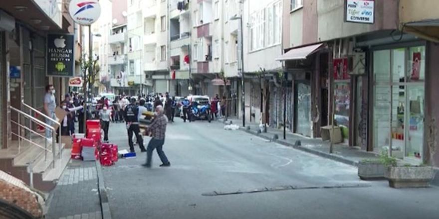 Şişli'de 6 katlı binada çökme tehlikesi