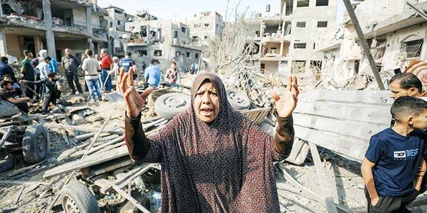 Gazze'de insanlık dramı! Şartlar giderek ağırlaşıyor