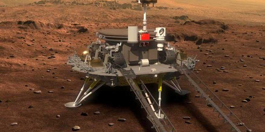 Çin Mars'ın yüzeyine uzay aracı indiren 2. ülke oldu