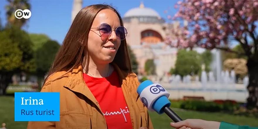 Türkiye'yi 'tam kapanma' sürecinde ziyaret eden turistten çarpıcı yorum