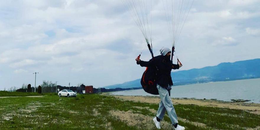 Bursa'da paraşütle atladıktan sonra kaybolan sporcunun cansız bedenine ulaşıldı