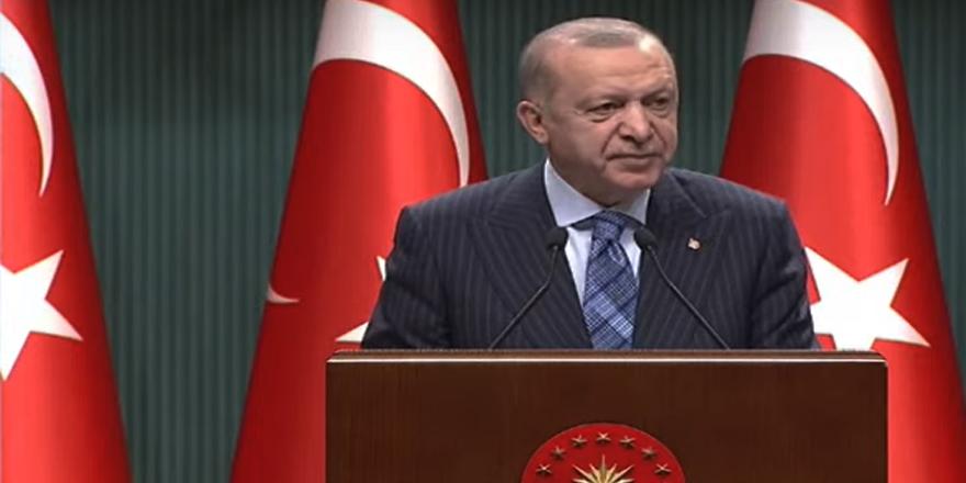 Cumhurbaşkanı Erdoğan kabine toplantısı ardından konuştu