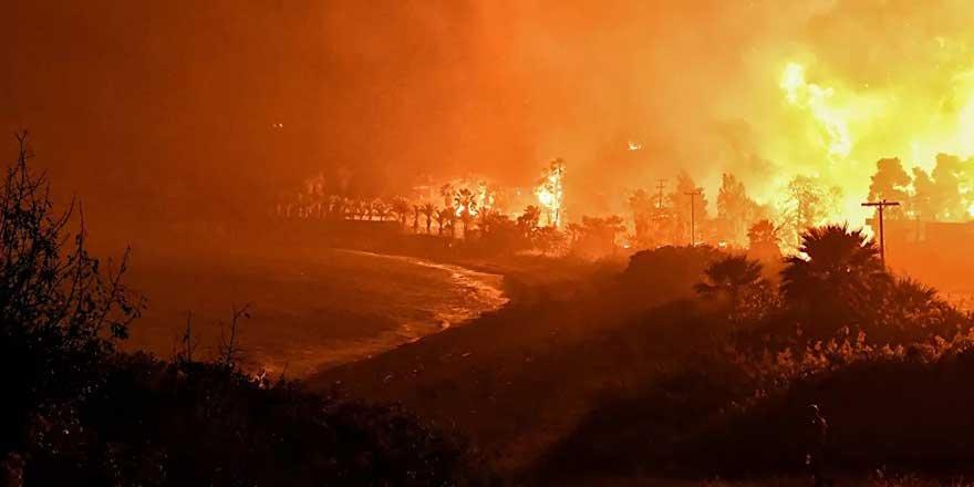 Muğla Ula'da orman yangını