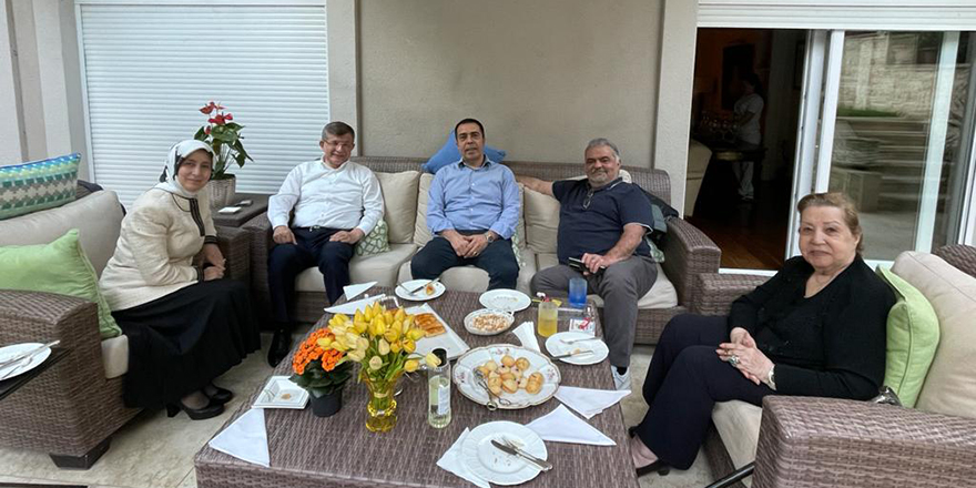Gelecek Partisi Genel Başkanı Ahmet Davutoğlu öyle birini ziyaret etti ki