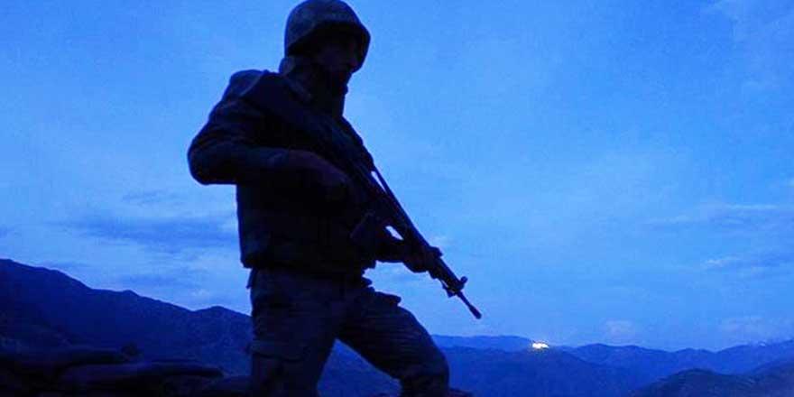 Pençe Yıldırım Harekatı'nda bir asker şehit oldu