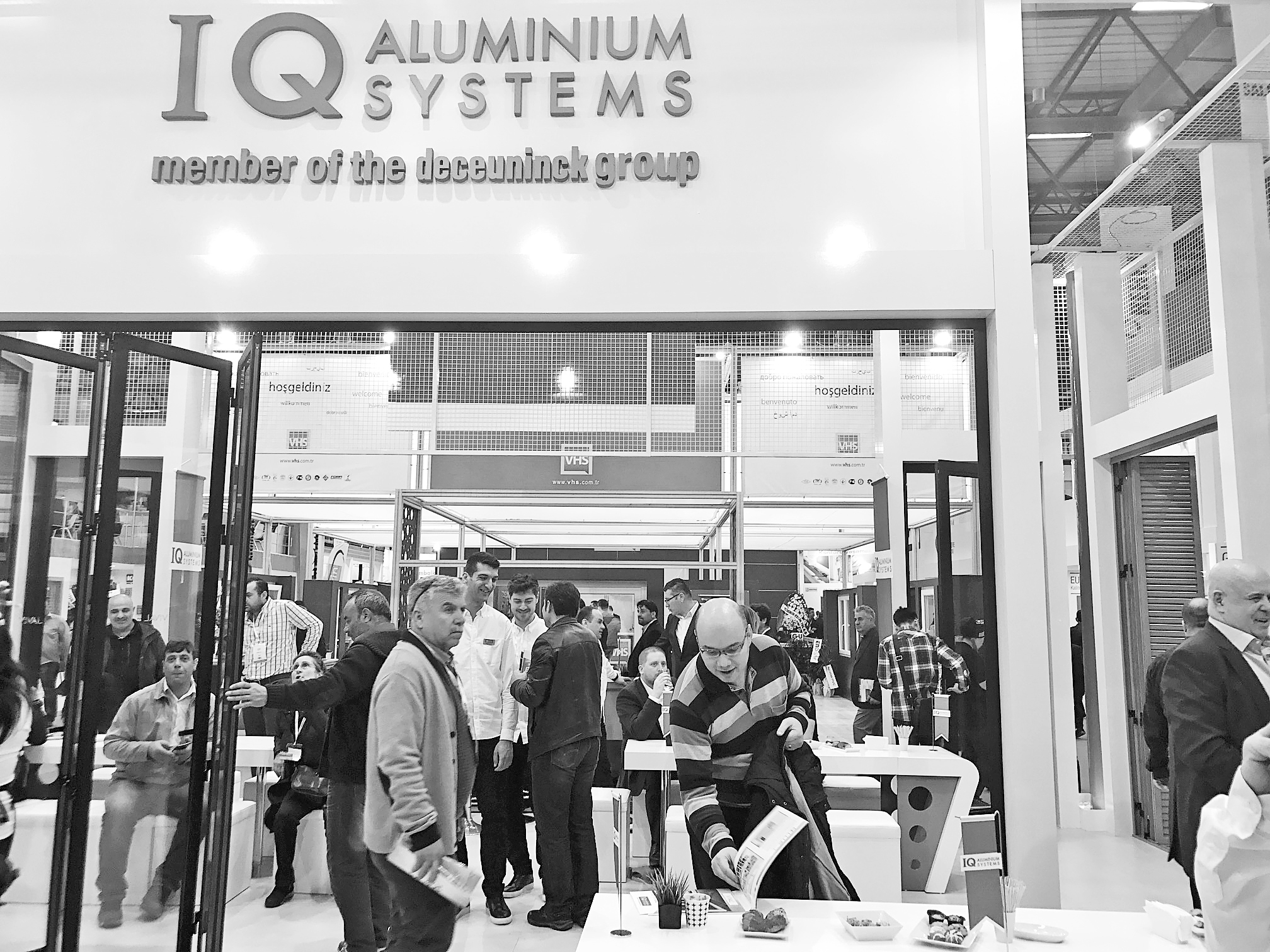 'IQ Alüminyum'  Avrasya Fuarı'nda