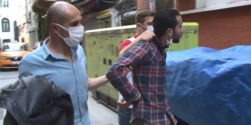 Yer: Taksim! Filistinli çaldı, Tunuslu yakalandı