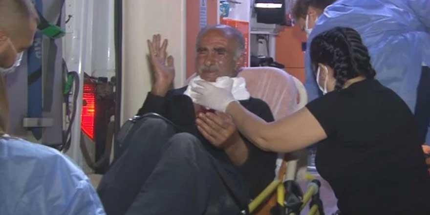 İzmir'de bankta oturan kişiyi para vermediği için boynundan yaraladılar