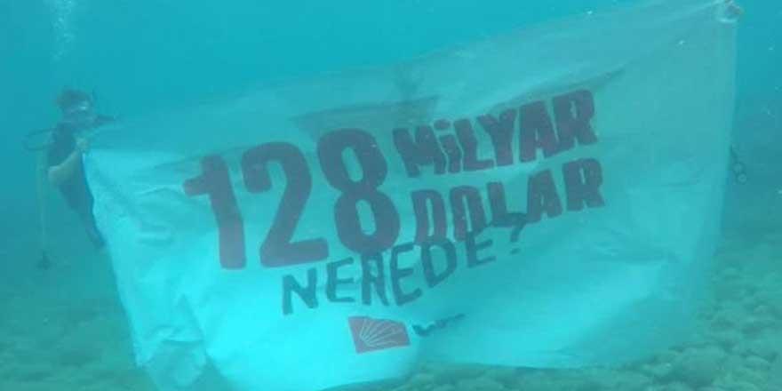 CHP bu kez denizin altından sordu