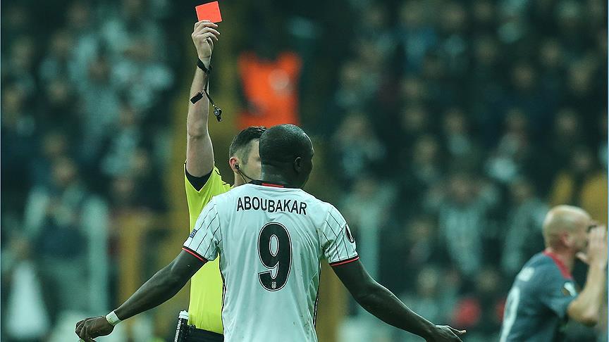 'Aboubakar'a kesinlikle ceza verilecek'
