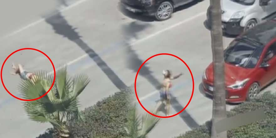 Adana'da ilginç görüntüler! Kimse trafiğin ortasında kadının yaptıklarına anlam veremedi