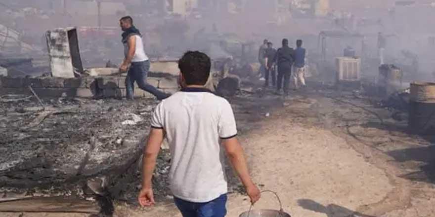 Terör örgütü PKK bir evi ateşe verdi!
