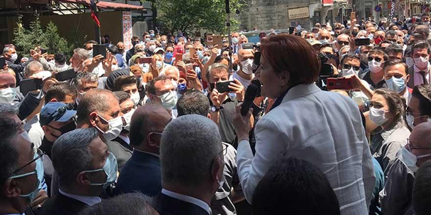 Akşener Erdoğan'a böyle seslendi: Kalk o koltuktan, doyurmayan namerttir