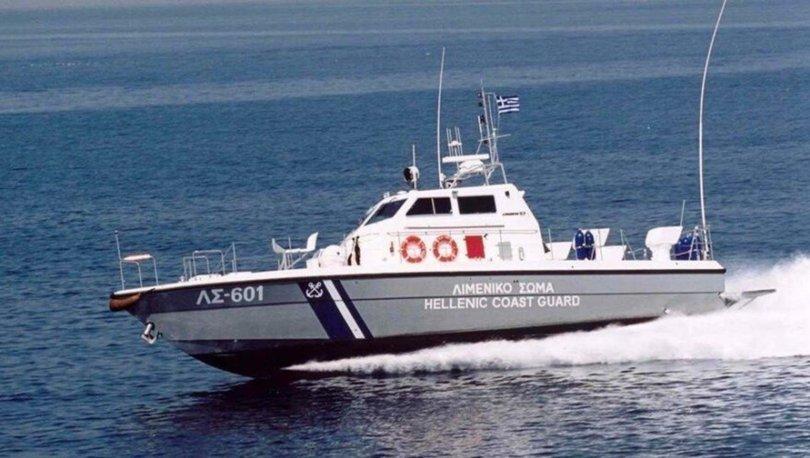 Yunan sahil güvenlik botu Türk kara sularına girdi