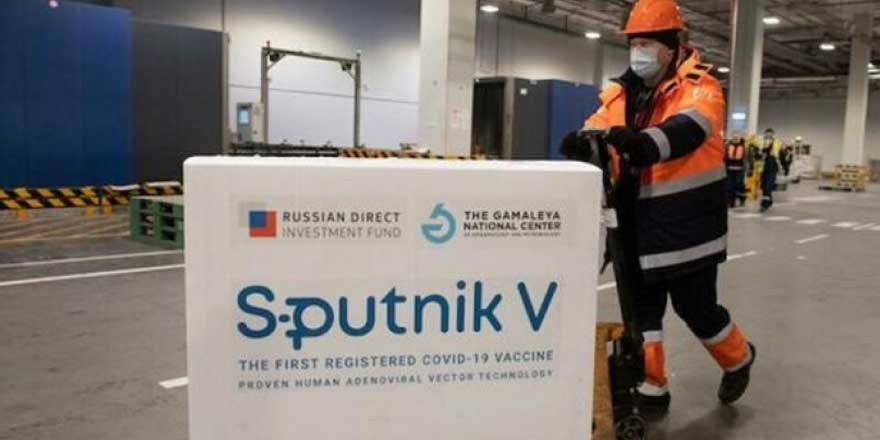 Sputnik V'nin ilk sevkiyatı Ankara'ya ulaştı