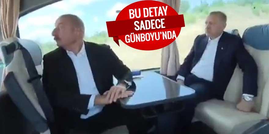 Aliyev'in anlattıklarına çok şaşırdı... Erdoğan: Aaa onlar var mı