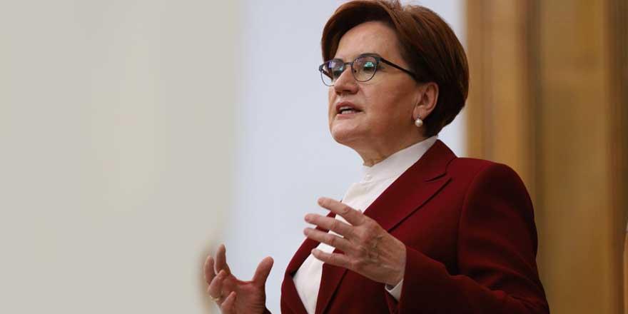 Meral Akşener: Kendisine güvenip, oy veren, aziz milletimize yapılan ihanetin, ibretlik resmidir