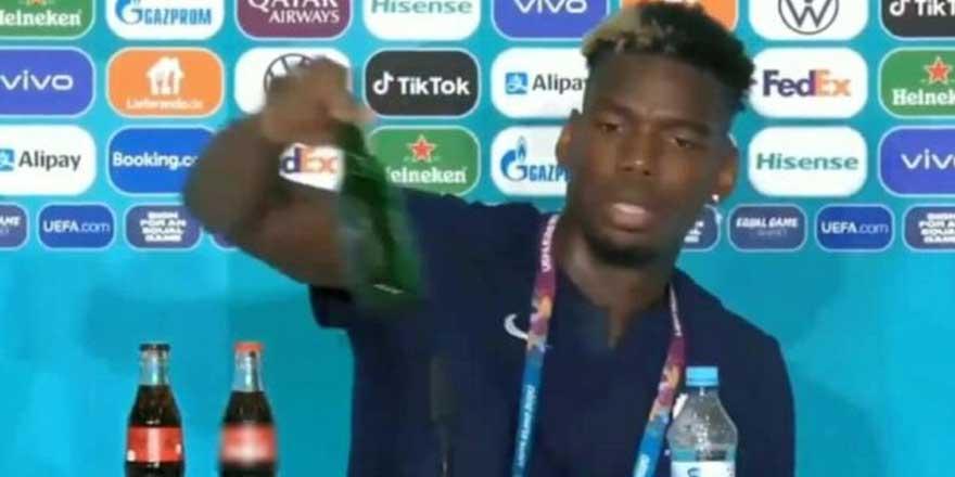 Ronaldo'dan sonra bir tepki de Pogba'dan