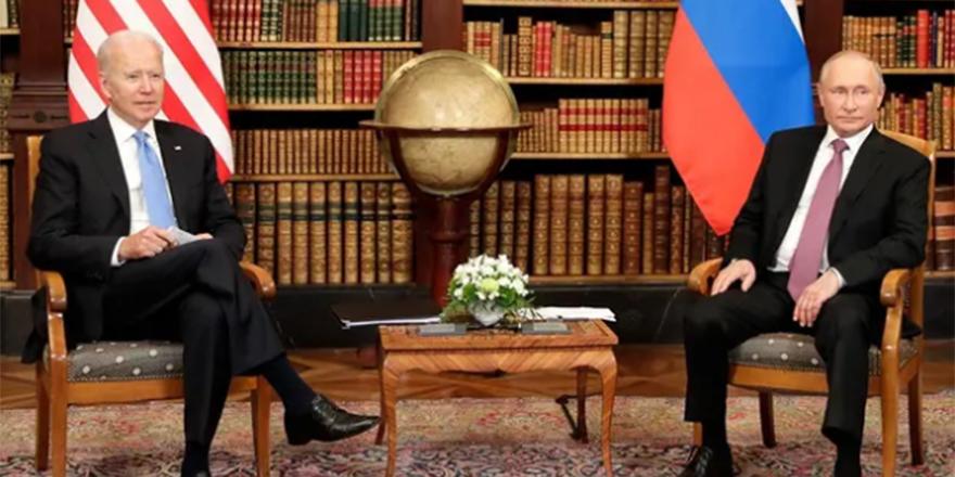 Putin ve Biden'dan ortak bildiri!