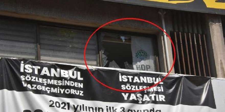 Son dakiaka... HDP il binasına saldırı