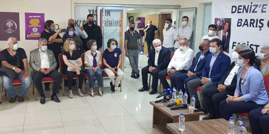 CHP heyetinden HDP'ye başsağlığı ziyareti
