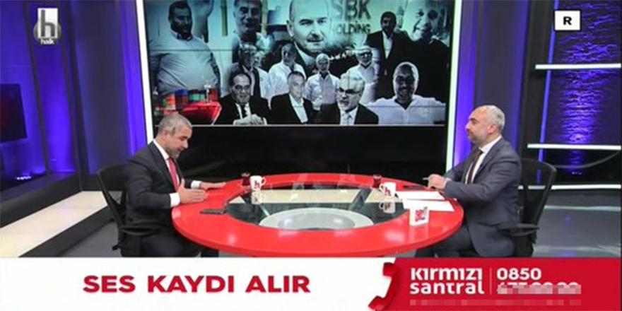 Veyis Ateş'in hakkındaki iddiaları İsmail Saymaz'a değerlendirdiği programda dikkat çeken reklam