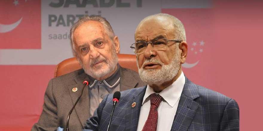 """Saadet Partisi çalkalanıyor!  """"Sulhla bitmez sonunda kavga çıkar"""""""