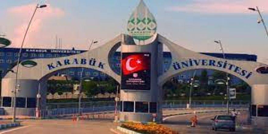 Karabük Üniversitesi ilanı verdi