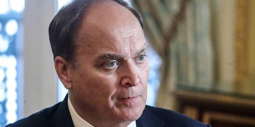 Rusya'nın ABD Büyükelçisi Antonov: Sorunların çözümü için yapıcı diyaloğa hazırız