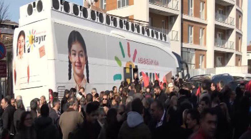 CHP'nin Cumhuriyet otobüsü yola çıktı