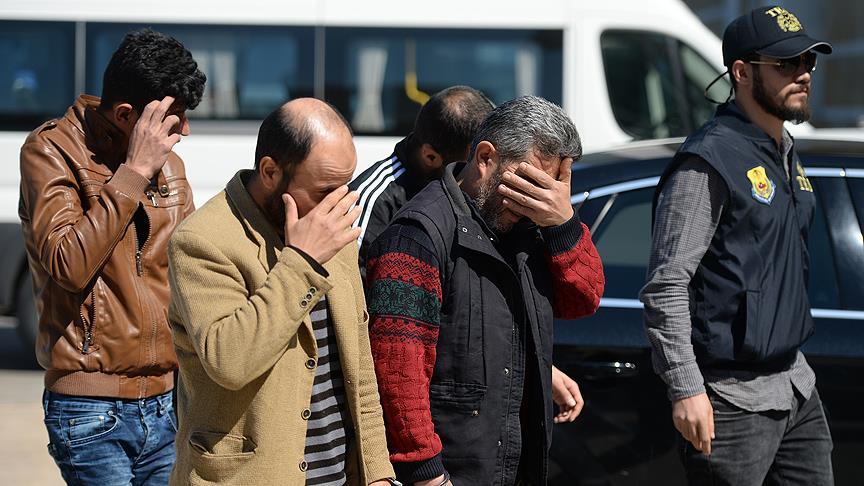 Antalya'da IŞİD operasyonu: 5 gözaltı