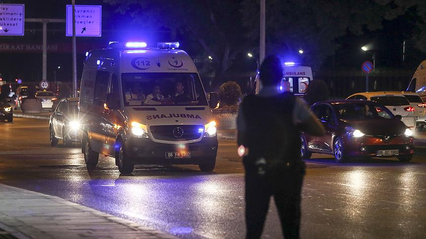 'Polise ateş edin' emri