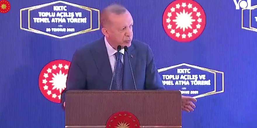 """Canlı yayında Erdoğan'ı sinirlendiren olay! """"Kim yönetiyor bunu!"""""""
