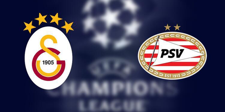 Galatasaray- PSV Eindhoven canlı anlatım