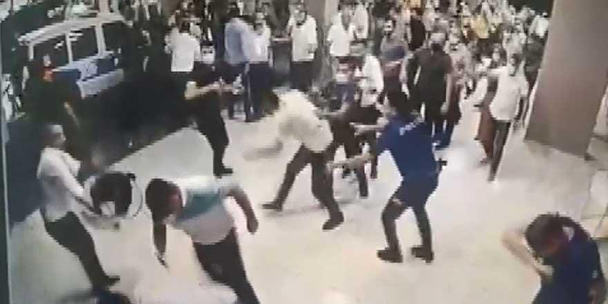 Diyarbakır'da hastanede polis ve sağlık çalışanlarına saldırı!