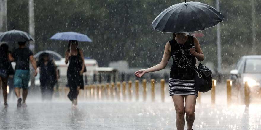 Şemsiyelerinizi hazırlayın! Meteoroloji'den kuvvetli yağış uyarısı