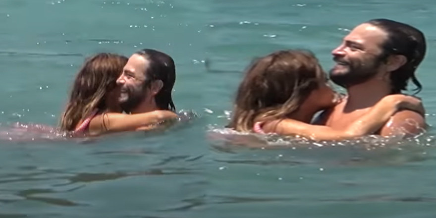 Ahmet Kural ile avukat sevgilisinin aşk tatili