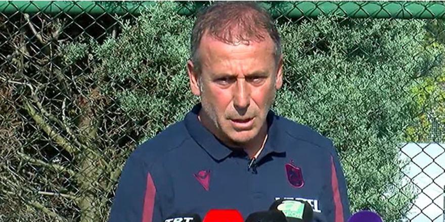 Abdullah Avcı: Trabzonspor'un olduğu her yerde yarış vardır