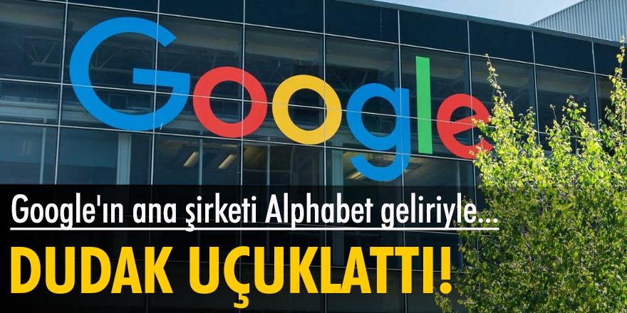 Google'ın ana şirketi Alphabet geliriyle dudak uçuklattı