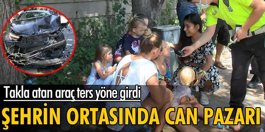 İstanbul Sarıyer'de korkunç kaza: 4 yaralı!