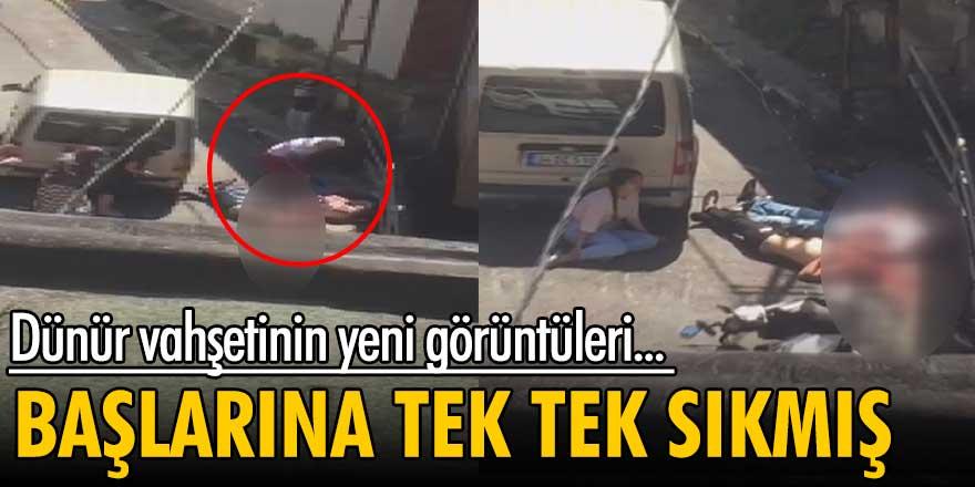 Beyoğlu'nda dünür vahşetinin yeni görüntüleri!