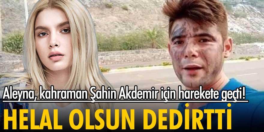 Aleyna Tilki Manavgat'ta yangında ölen Şahin Akdemir adına orman yaptıracak!