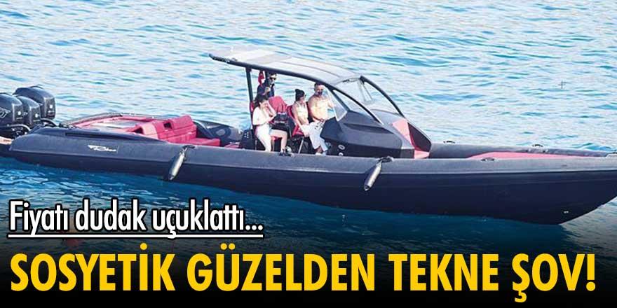 Süreyya Yalçın'dan 4 milyonluk tekne şov!
