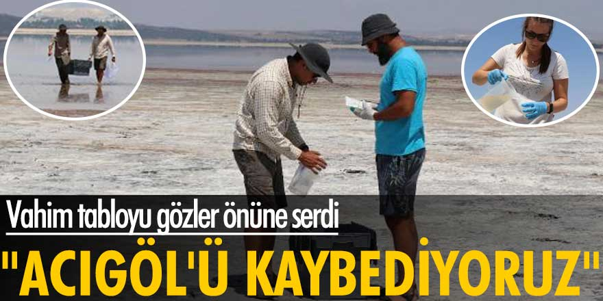 Mustafa Korkmaz vahim tabloyu gözler önüne serdi! Acıgöl'ü kaybediyoruz