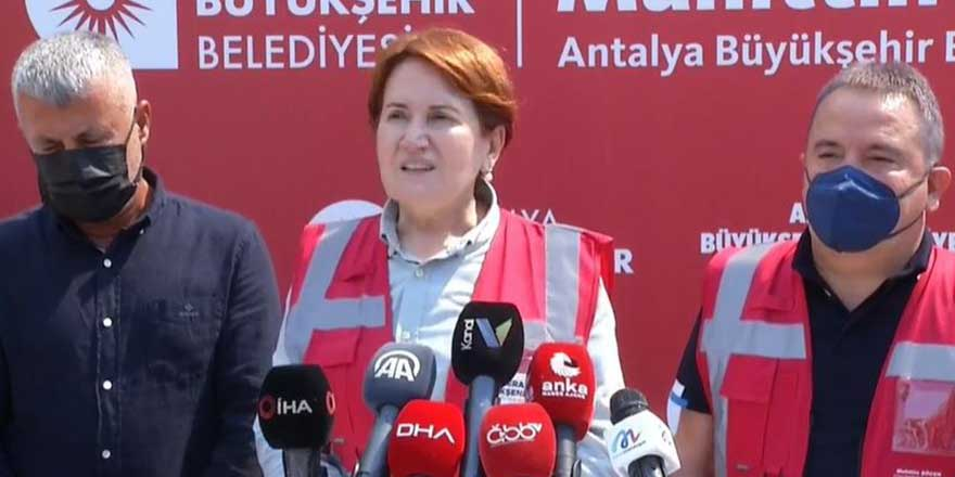 Meral Akşener: Orman yangınlarına sebep olanlar terörden yargılanmalı
